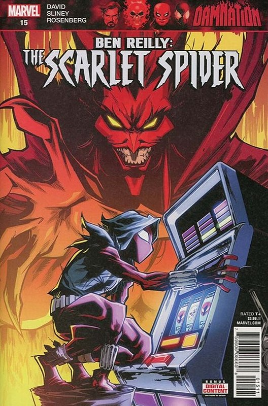 Cover of Ben Reilly Scarlet Spider (Vol 1) #15. One of 250,000 Vintage American Comics on sale from Krypton!