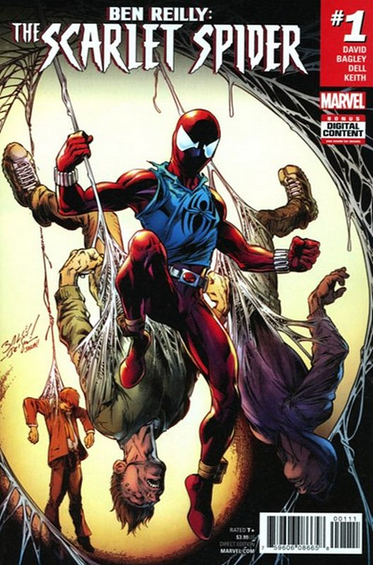 Cover of Ben Reilly Scarlet Spider (Vol 1) #1. One of 250,000 Vintage American Comics on sale from Krypton!