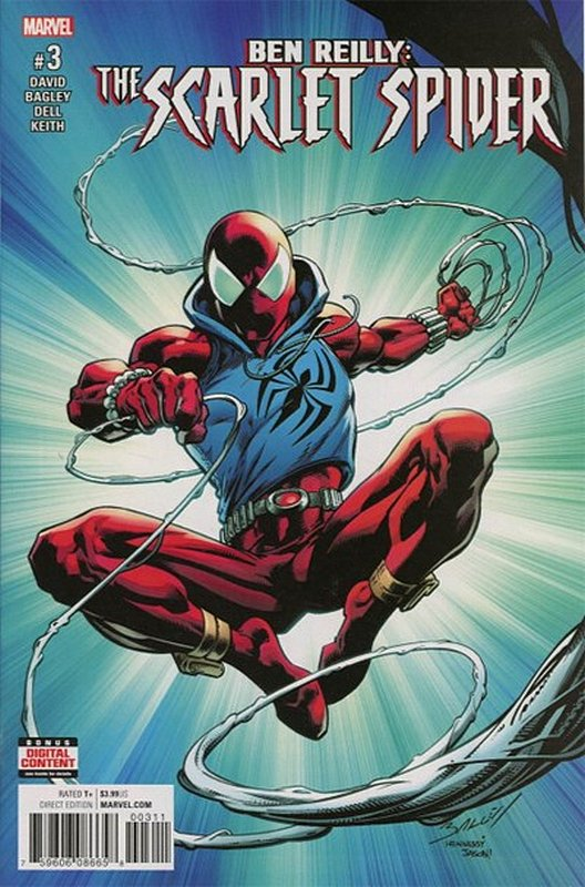 Cover of Ben Reilly Scarlet Spider (Vol 1) #3. One of 250,000 Vintage American Comics on sale from Krypton!
