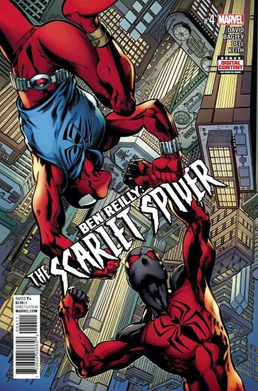 Cover of Ben Reilly Scarlet Spider (Vol 1) #4. One of 250,000 Vintage American Comics on sale from Krypton!