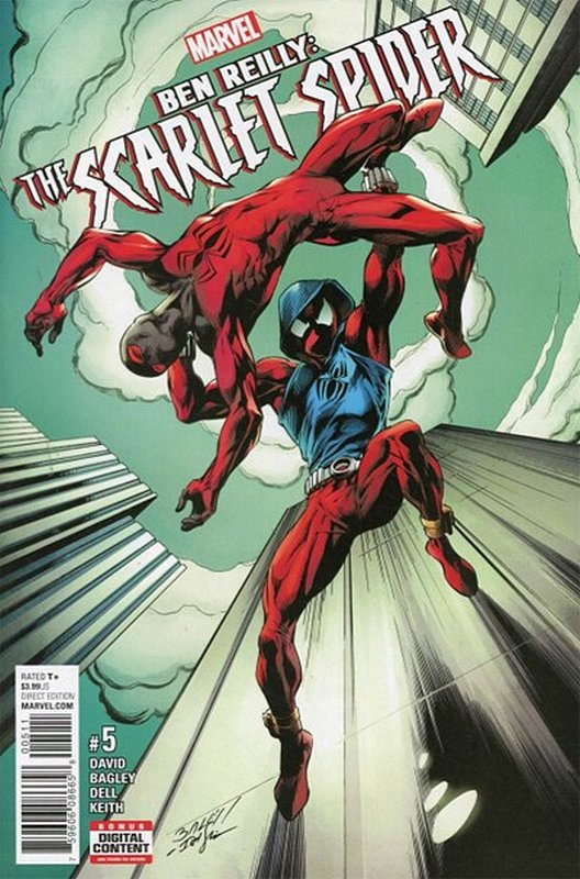Cover of Ben Reilly Scarlet Spider (Vol 1) #5. One of 250,000 Vintage American Comics on sale from Krypton!