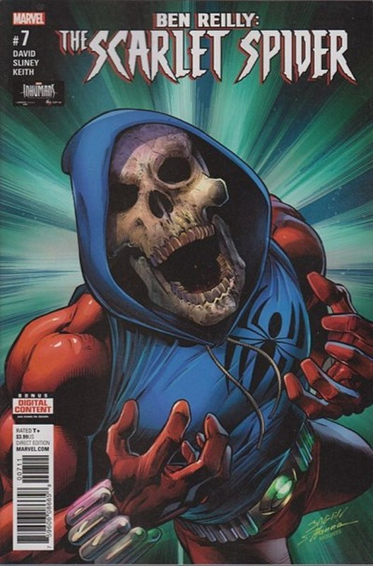 Cover of Ben Reilly Scarlet Spider (Vol 1) #7. One of 250,000 Vintage American Comics on sale from Krypton!