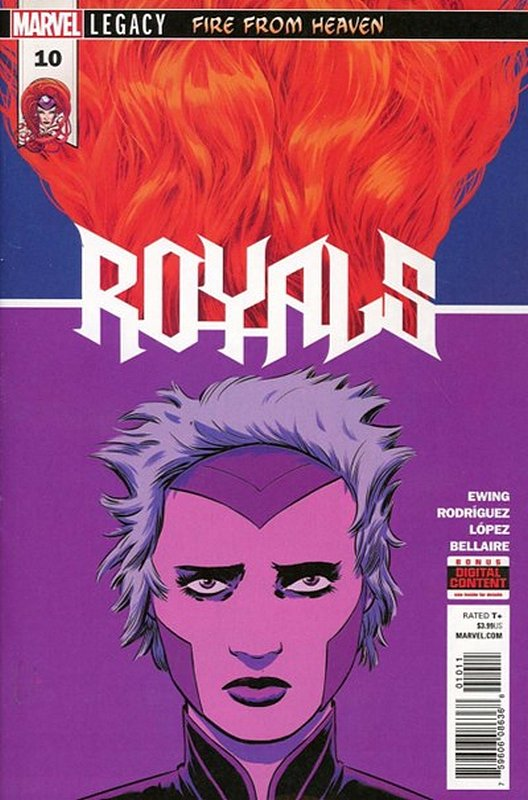 Cover of Royals (Vol 1) #10. One of 250,000 Vintage American Comics on sale from Krypton!
