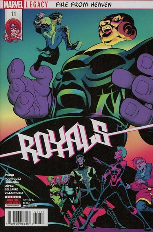 Cover of Royals (Vol 1) #11. One of 250,000 Vintage American Comics on sale from Krypton!