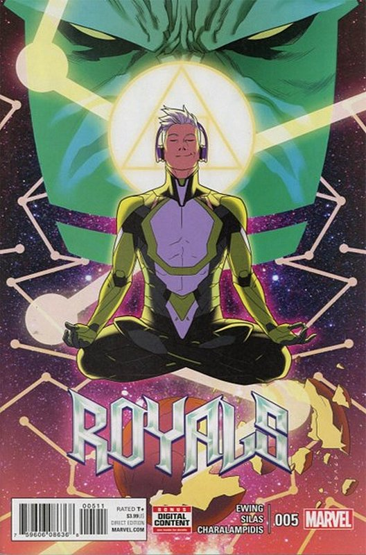 Cover of Royals (Vol 1) #5. One of 250,000 Vintage American Comics on sale from Krypton!