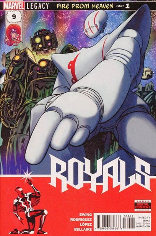 Cover of Royals (Vol 1) #9. One of 250,000 Vintage American Comics on sale from Krypton!
