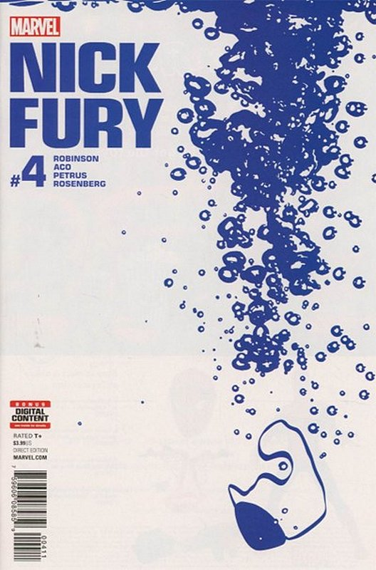 Cover of Nick Fury (Vol 1) #4. One of 250,000 Vintage American Comics on sale from Krypton!