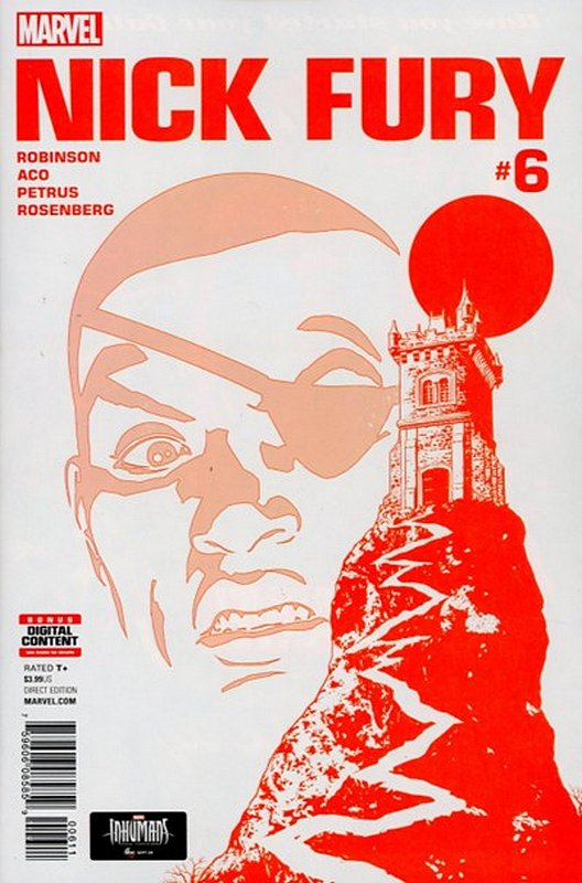 Cover of Nick Fury (Vol 1) #6. One of 250,000 Vintage American Comics on sale from Krypton!