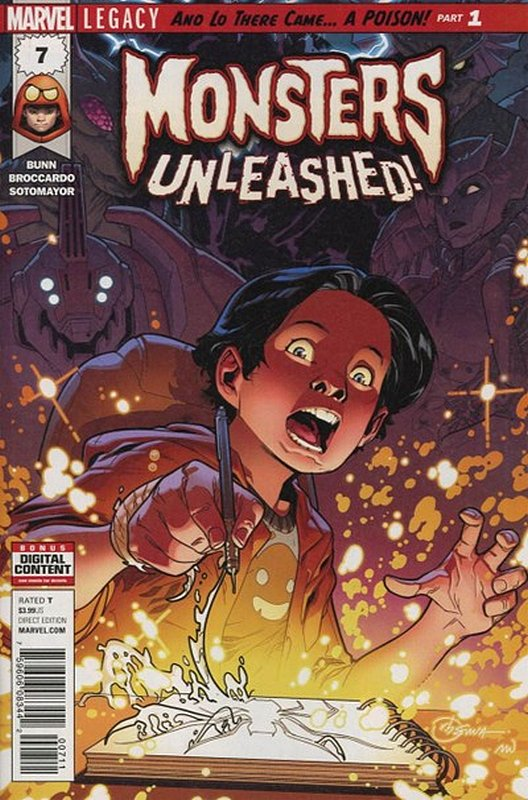 Cover of Monsters Unleashed (Vol 1) #7. One of 250,000 Vintage American Comics on sale from Krypton!