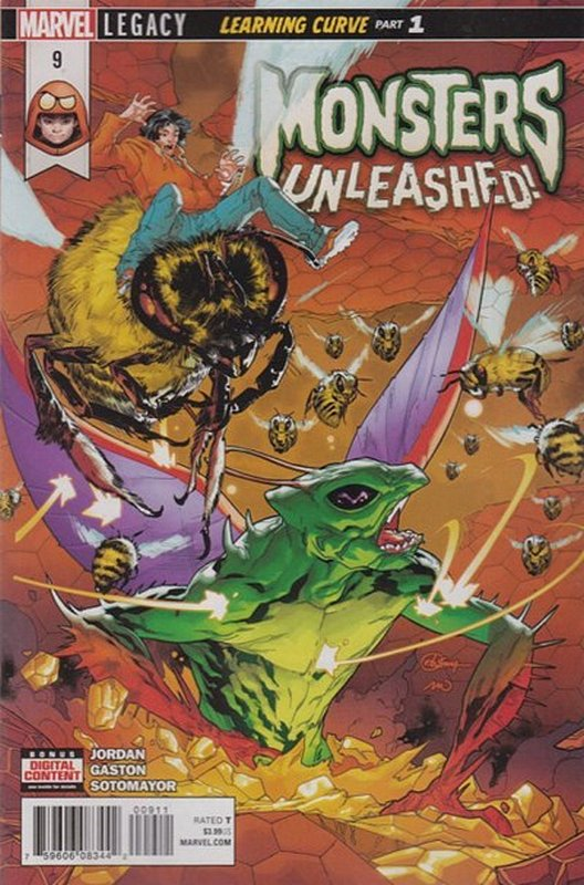 Cover of Monsters Unleashed (Vol 1) #9. One of 250,000 Vintage American Comics on sale from Krypton!