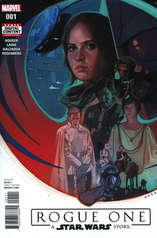 Cover of Star Wars: Rogue One Adaptation (2017 Ltd) #1. One of 250,000 Vintage American Comics on sale from Krypton!