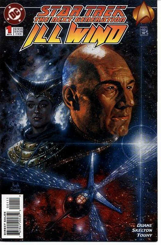Cover of Star Trek: The Next Generation ill Wind (1995 Ltd) #1. One of 250,000 Vintage American Comics on sale from Krypton!