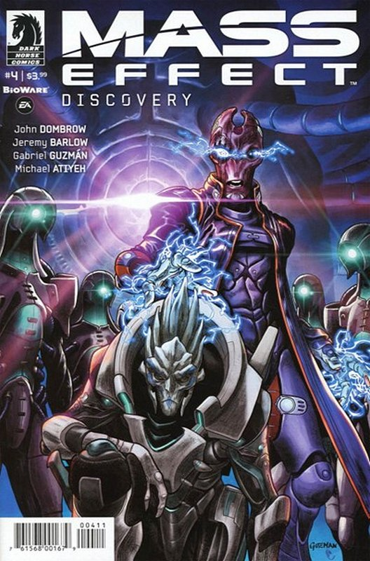 Cover of Mass Effect: Discovery (2017 Ltd) #4. One of 250,000 Vintage American Comics on sale from Krypton!