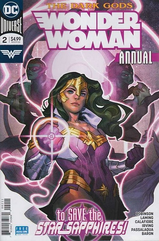 Cover of Wonder Woman Annual (2017) #2. One of 250,000 Vintage American Comics on sale from Krypton!