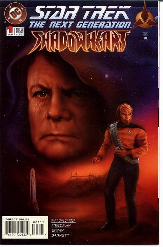 Cover of Star Trek: The Next Generation Shadowheart (Ltd) #1. One of 250,000 Vintage American Comics on sale from Krypton!