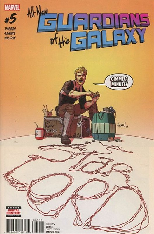 Cover of All-New Guardians of the Galaxy (Vol 1) #5. One of 250,000 Vintage American Comics on sale from Krypton!