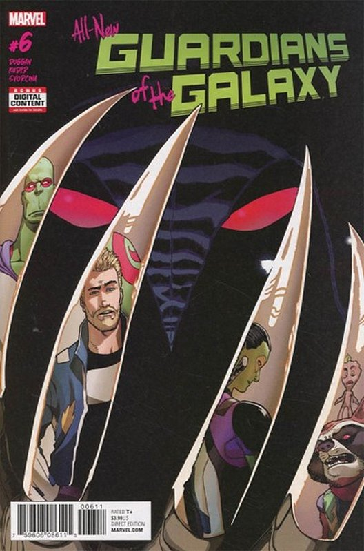 Cover of All-New Guardians of the Galaxy (Vol 1) #6. One of 250,000 Vintage American Comics on sale from Krypton!