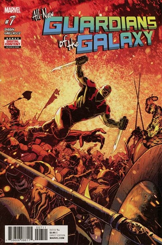 Cover of All-New Guardians of the Galaxy (Vol 1) #7. One of 250,000 Vintage American Comics on sale from Krypton!