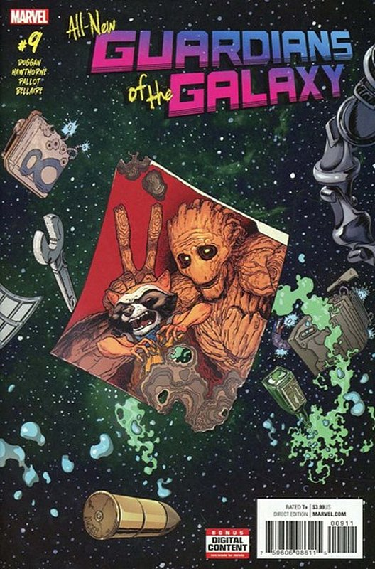 Cover of All-New Guardians of the Galaxy (Vol 1) #9. One of 250,000 Vintage American Comics on sale from Krypton!