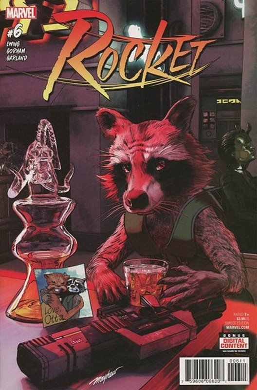 Cover of Rocket (Vol 1) #6. One of 250,000 Vintage American Comics on sale from Krypton!