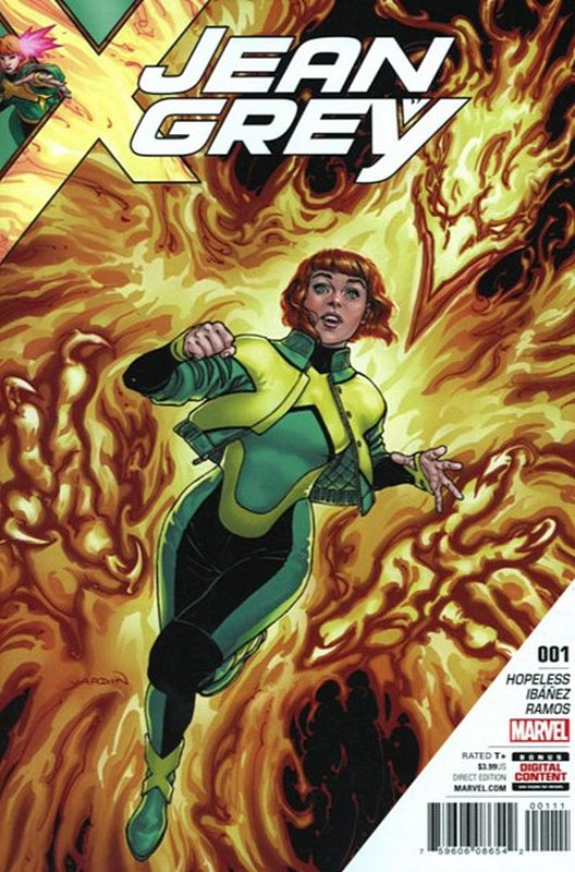 Cover of Jean Grey (Vol 1) #1. One of 250,000 Vintage American Comics on sale from Krypton!