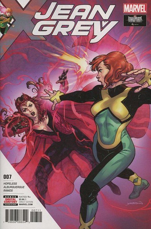 Cover of Jean Grey (Vol 1) #7. One of 250,000 Vintage American Comics on sale from Krypton!