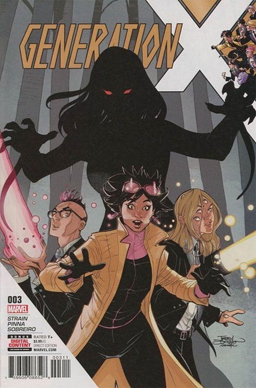 Cover of Generation X (Vol 2) #3. One of 250,000 Vintage American Comics on sale from Krypton!