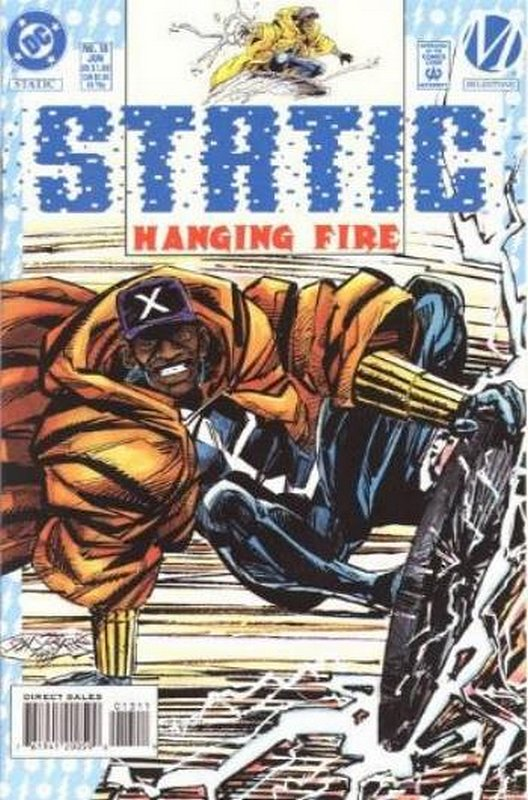 Cover of Static (Vol 1) #13. One of 250,000 Vintage American Comics on sale from Krypton!