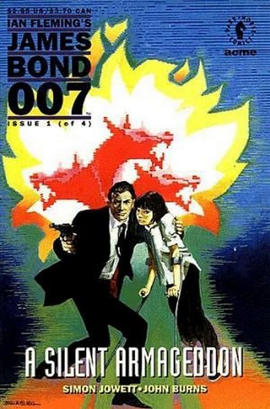 Cover of James Bond 007: A Silent Armageddon (1993 Ltd) #1. One of 250,000 Vintage American Comics on sale from Krypton!