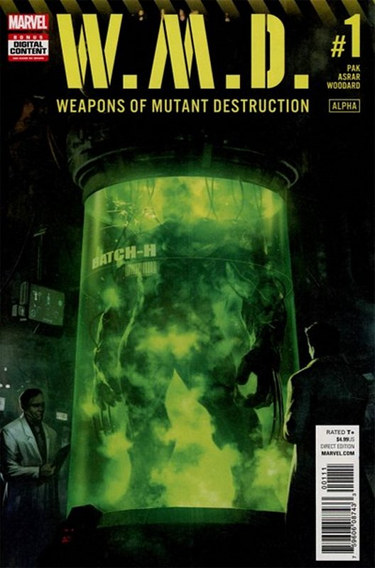 Cover of Weapons of Mutant Destruction (2017 One Shot) #1. One of 250,000 Vintage American Comics on sale from Krypton!