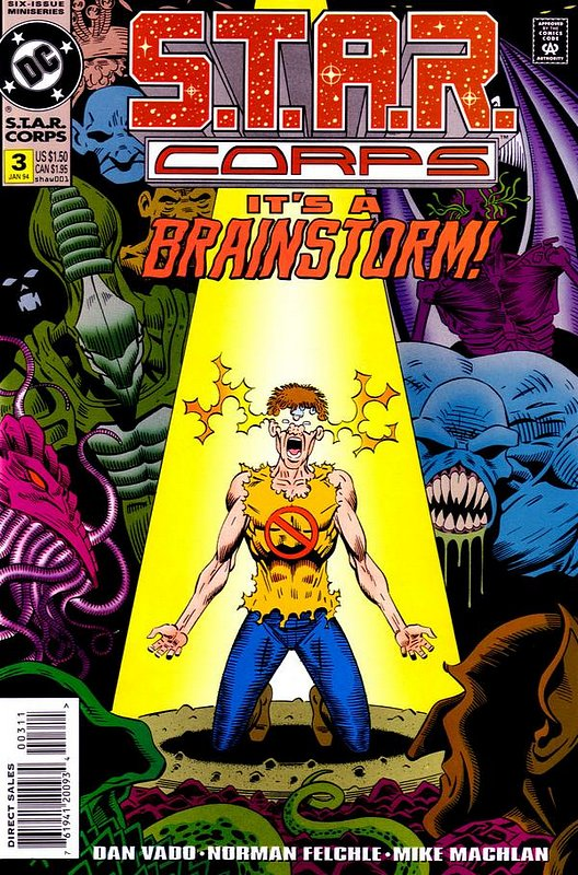 Cover of S.T.A.R. Corps (1993 Ltd) #3. One of 250,000 Vintage American Comics on sale from Krypton!