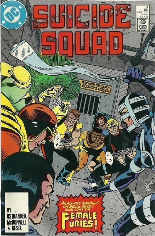 Cover of Suicide Squad (Vol 1) #3. One of 250,000 Vintage American Comics on sale from Krypton!