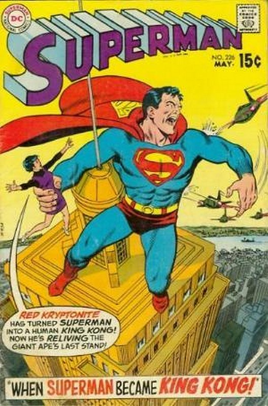 Cover of Superman (Vol 1) #226. One of 250,000 Vintage American Comics on sale from Krypton!