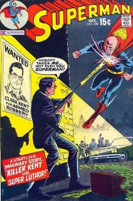 Cover of Superman (Vol 1) #230. One of 250,000 Vintage American Comics on sale from Krypton!