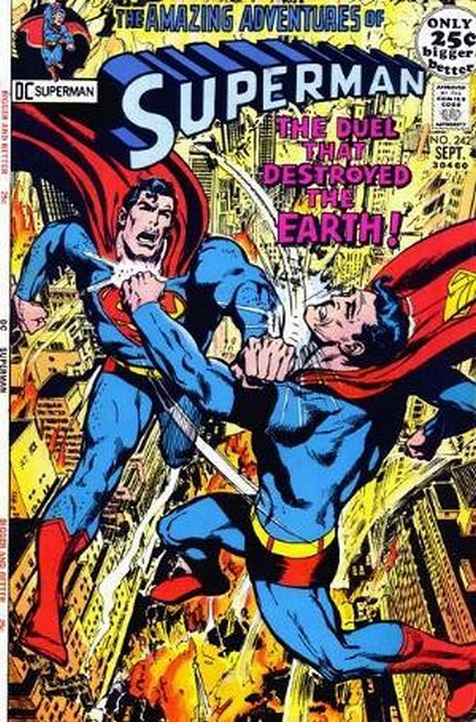 Cover of Superman (Vol 1) #242. One of 250,000 Vintage American Comics on sale from Krypton!