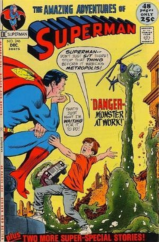 Cover of Superman (Vol 1) #246. One of 250,000 Vintage American Comics on sale from Krypton!