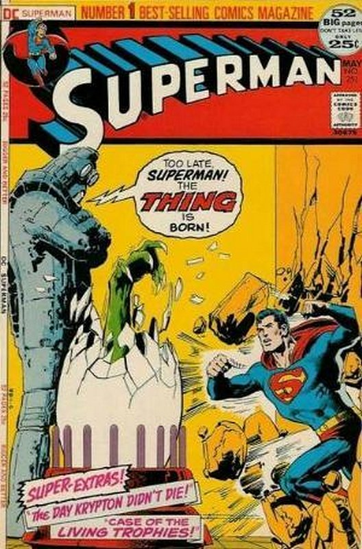 Cover of Superman (Vol 1) #251. One of 250,000 Vintage American Comics on sale from Krypton!
