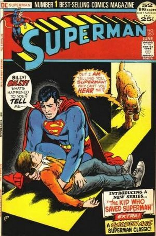 Cover of Superman (Vol 1) #253. One of 250,000 Vintage American Comics on sale from Krypton!