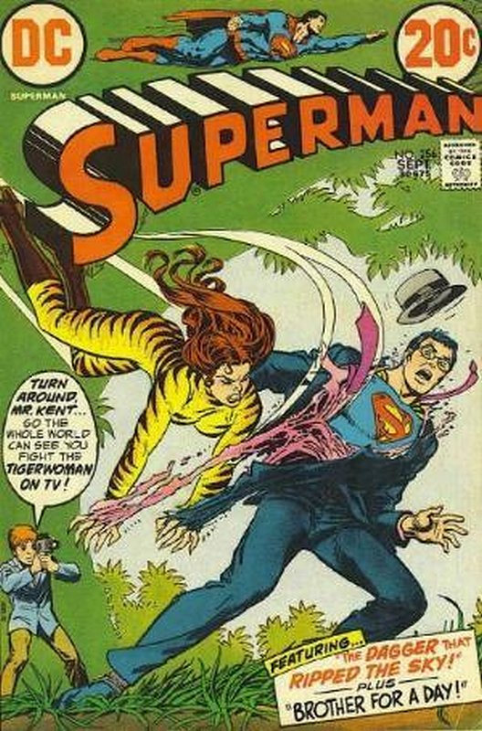 Cover of Superman (Vol 1) #256. One of 250,000 Vintage American Comics on sale from Krypton!