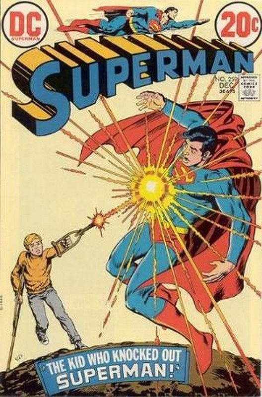Cover of Superman (Vol 1) #259. One of 250,000 Vintage American Comics on sale from Krypton!