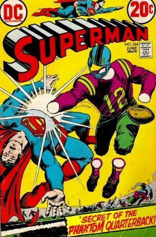 Cover of Superman (Vol 1) #264. One of 250,000 Vintage American Comics on sale from Krypton!