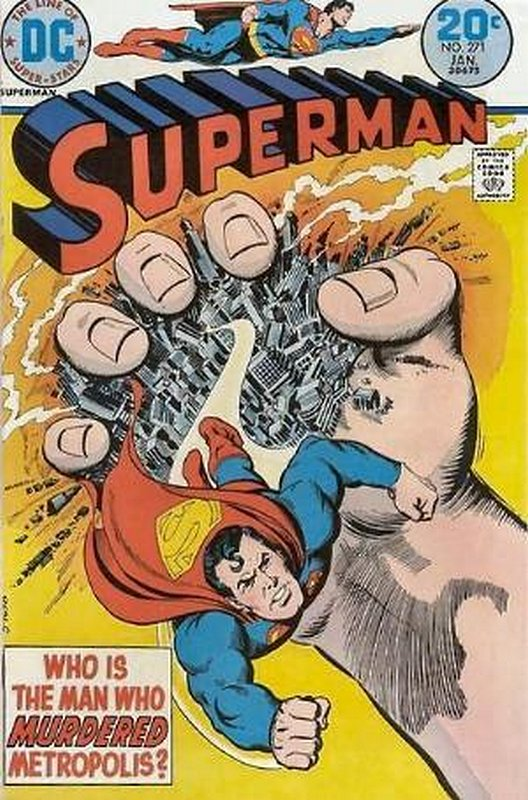 Cover of Superman (Vol 1) #271. One of 250,000 Vintage American Comics on sale from Krypton!