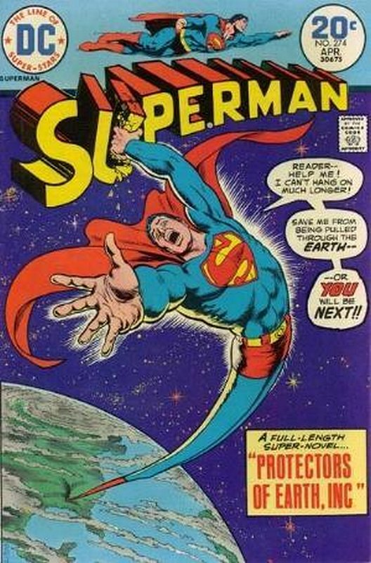 Cover of Superman (Vol 1) #274. One of 250,000 Vintage American Comics on sale from Krypton!