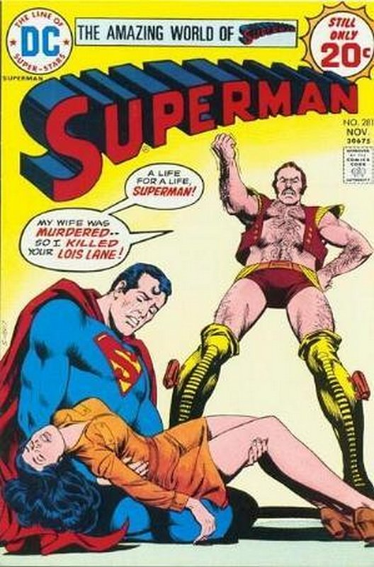 Cover of Superman (Vol 1) #281. One of 250,000 Vintage American Comics on sale from Krypton!