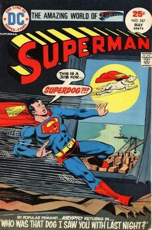 Cover of Superman (Vol 1) #287. One of 250,000 Vintage American Comics on sale from Krypton!