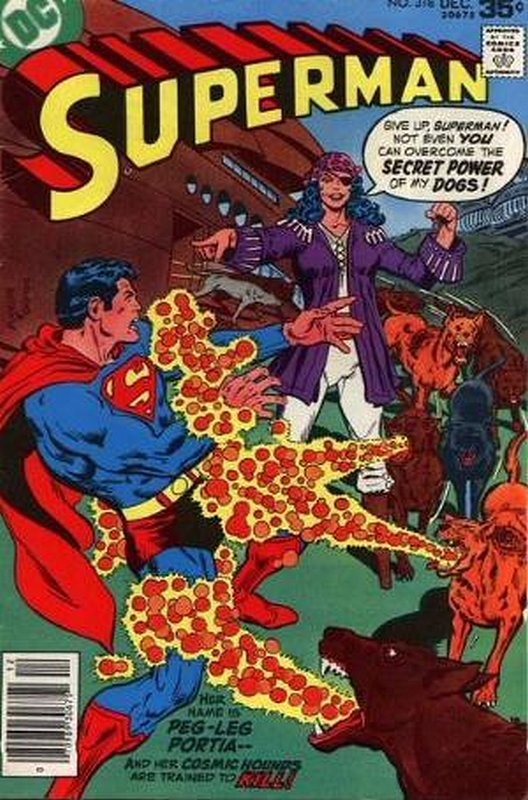 Cover of Superman (Vol 1) #318. One of 250,000 Vintage American Comics on sale from Krypton!