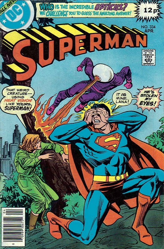 Cover of Superman (Vol 1) #334. One of 250,000 Vintage American Comics on sale from Krypton!