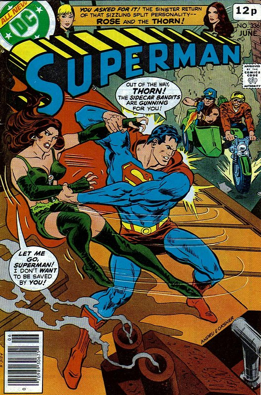 Cover of Superman (Vol 1) #336. One of 250,000 Vintage American Comics on sale from Krypton!