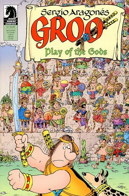 Cover of Groo: Play of the Gods (2017 Ltd) #3. One of 250,000 Vintage American Comics on sale from Krypton!