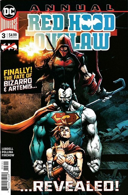 Cover of Red Hood & The Outlaws Annual (2017) #3. One of 250,000 Vintage American Comics on sale from Krypton!